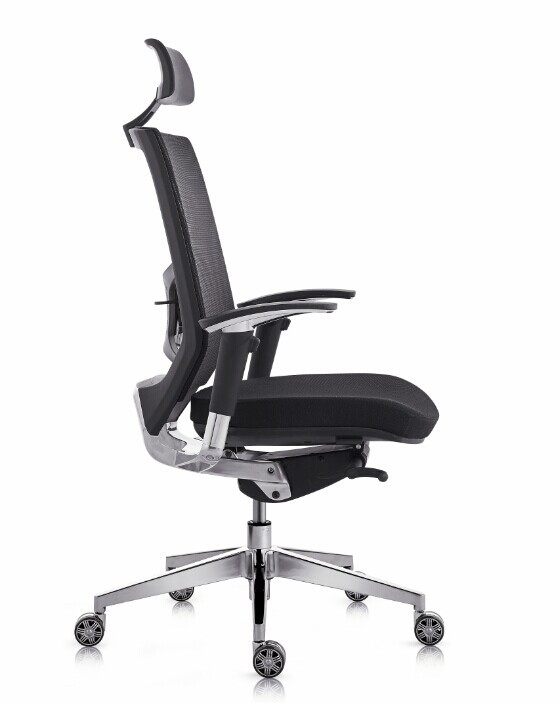Milson Ergonomic High Back Black Mesh Chair Office Stock
