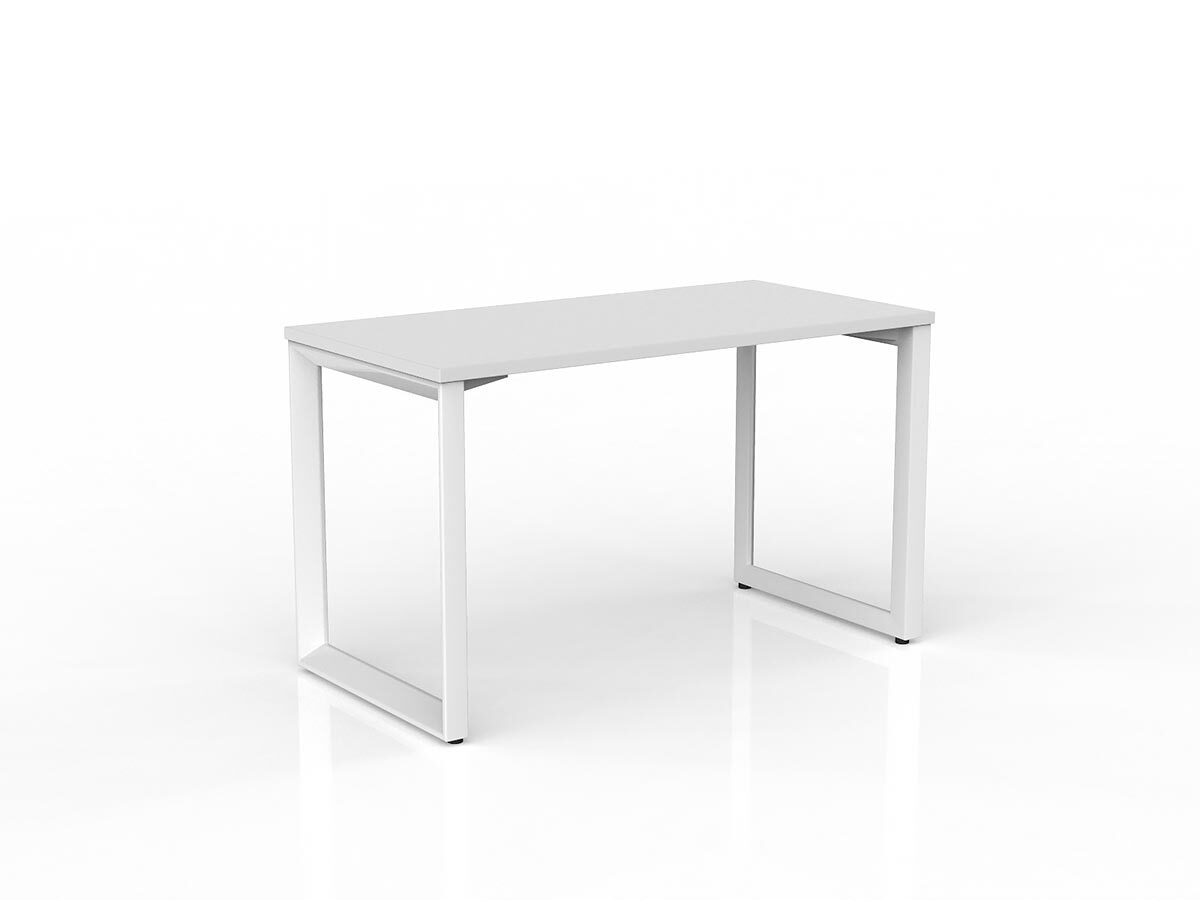 Anvil White Straight Home Office Desk Office Stock