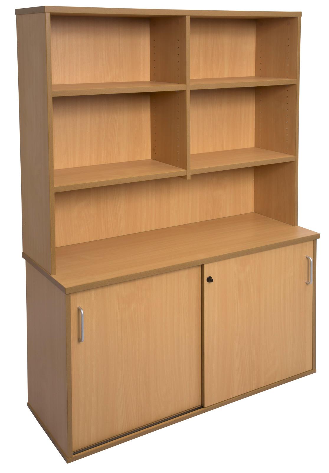 Rapid credenza with storage hutch office stock - Mobile credenza ...