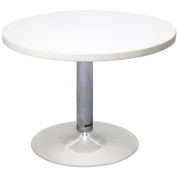 Chrome Base Round Coffee Table