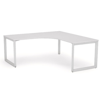 Anvil White Corner Office Desk