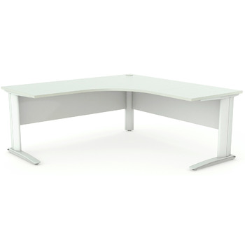 Aero Corner Desk with Modesty Panel
