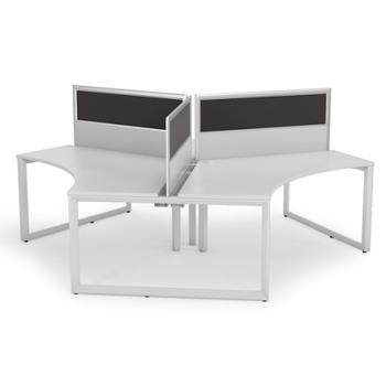 Anvil 3 Pod Workstation with Screens