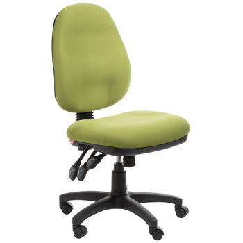 Adelaide Ergonomic Commercial Fabric Office Chair - Green