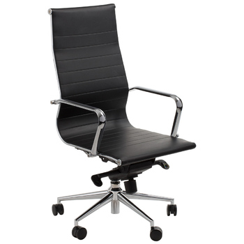 Astoria Black High Back Boardroom Chair