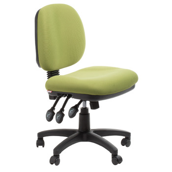 Melbourne Ergonomic Commercial Fabric Office Chair - Green