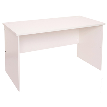 Express White Straight Home Office Desk