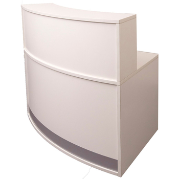 Vibe Full Height Curved Reception Counter
