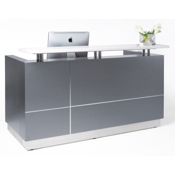 Hugo Modern Reception Desk Counter