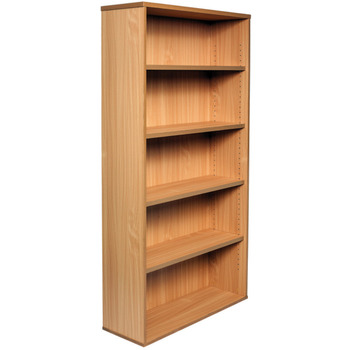 Express Tall Beech Office Bookcase