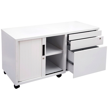 Express Mobile Caddy Drawers and Tambour