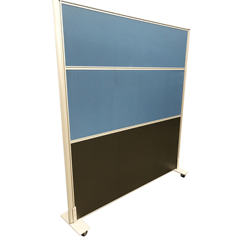 Rapid Mobile Acoustic Divider Screen with Castor Wheels