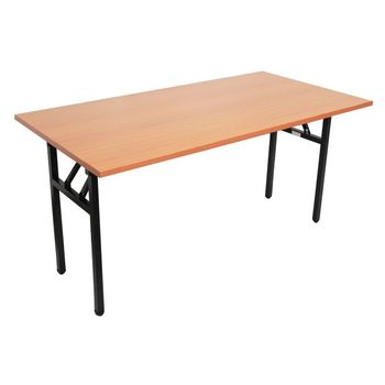 Rapid Steel Frame Folding Table Beech