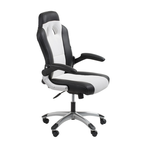 office chairs computer chairs racer black white racing style chair