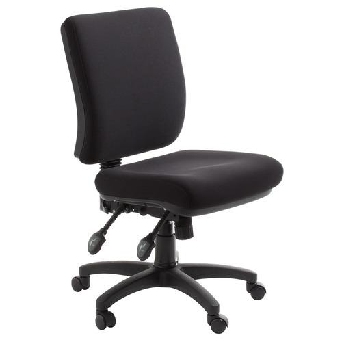 hobart square back black ergonomic office chair black office chair