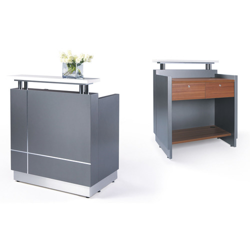 Receptionist Small Reception Desk Counter Office Stock