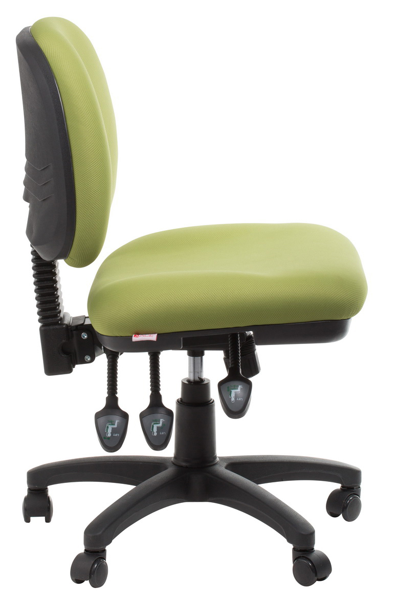 Melbourne Ergonomic Commercial Fabric Office Chair Green