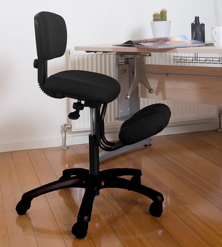 QDOS Kneeling Chair With Back Rest Ergonomic Posture