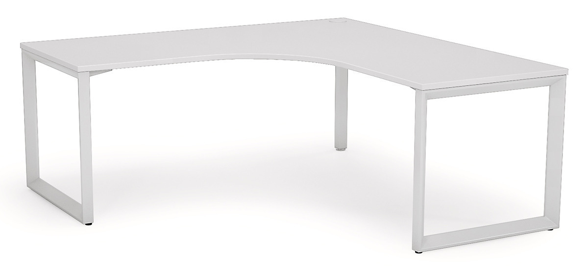white corner imagination top office executive desk first class modern table glass