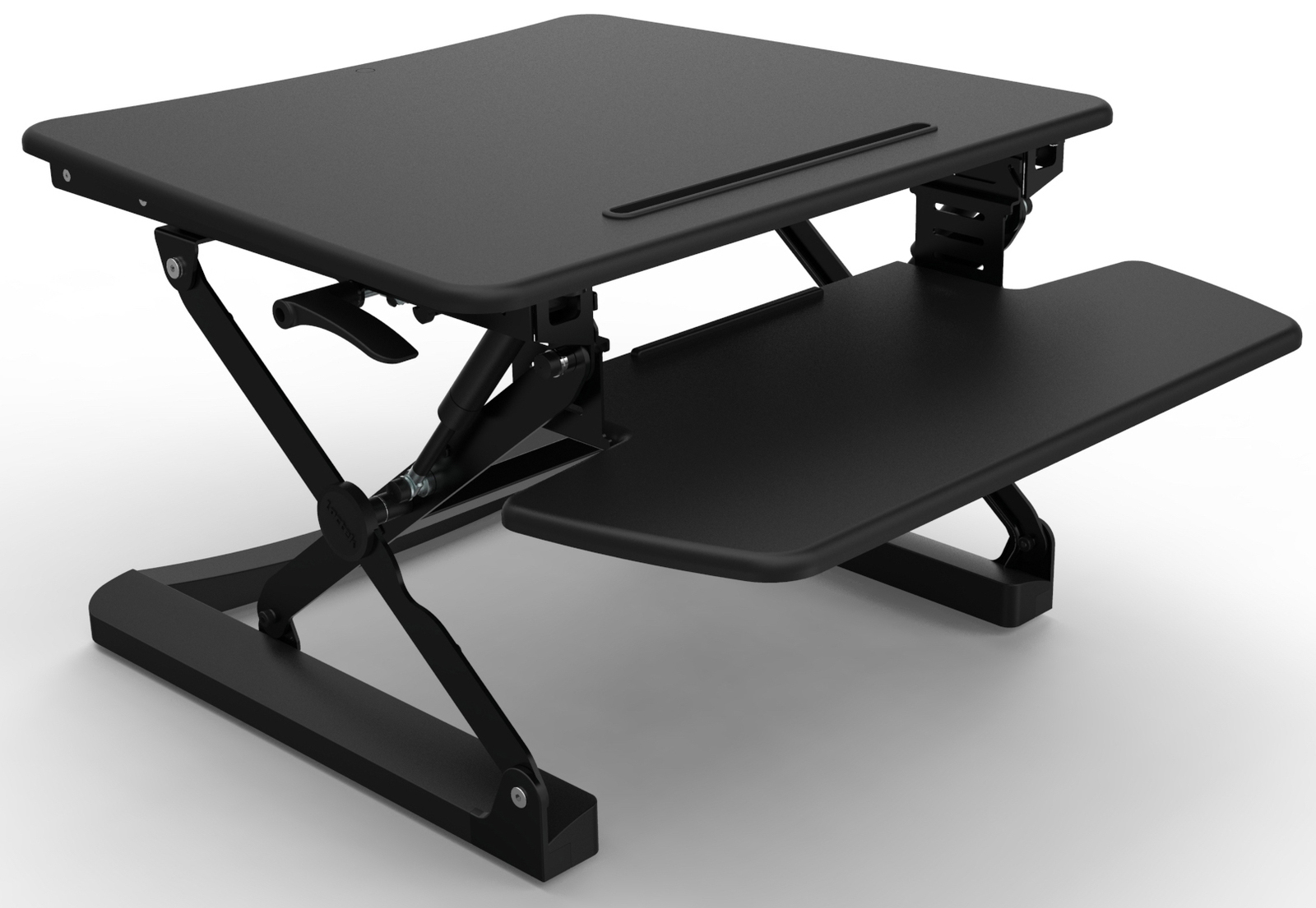 Rapid Riser Black Height Adjustable Sit Stand Desk