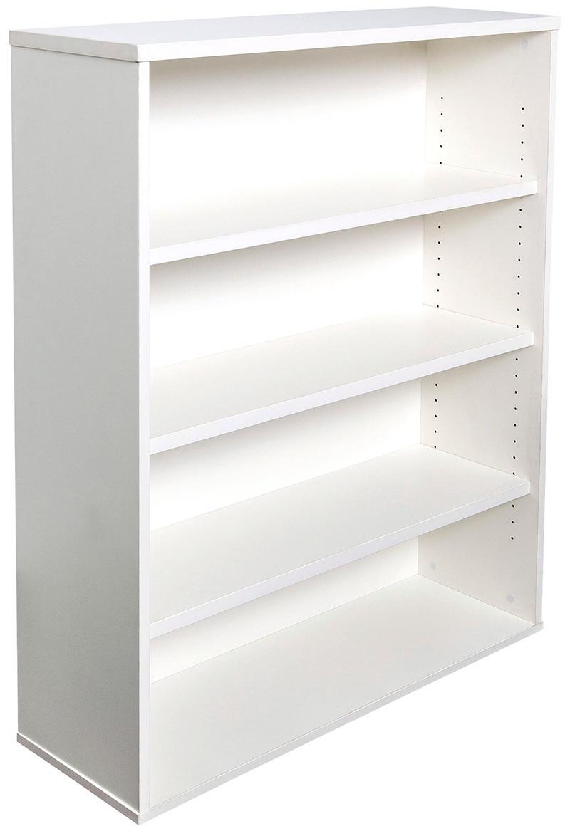 Express Small White Bookcase Storage Unit Home Bookshelf Office Stock