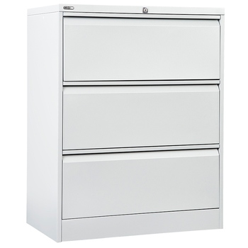 GO Steel Lateral Filing Cabinet 3 Drawer