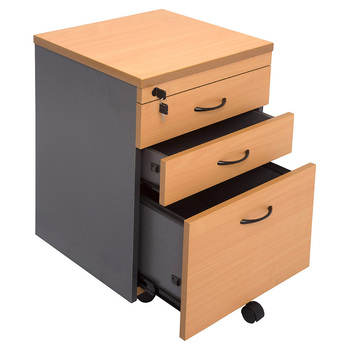 Express 3 Drawer Mobile Pedestal