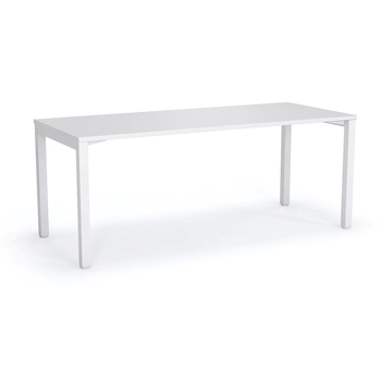 Axis White Straight Home Office Desk