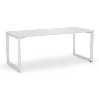 Anvil White Straight Home Office Desk