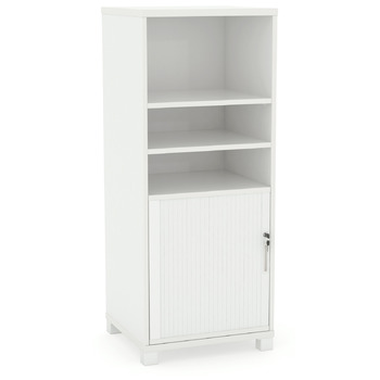 Tower Bookcase with 1 x Tambour insert