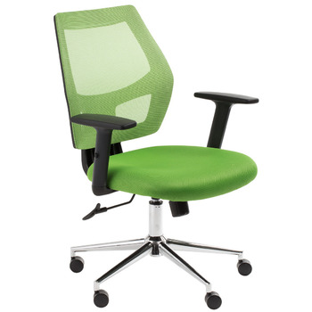 Metro Green Mesh Back Computer Chair