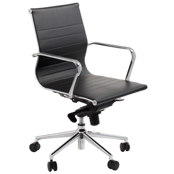 Astoria Black Low Back Boardroom Chair