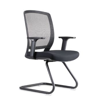 Hartley Black Promesh Mesh Back Visitor Chair