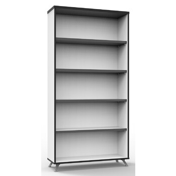 Infinity Large White Office Storage Bookcase