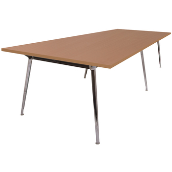 Rapid Air Large Beech Boardroom Table