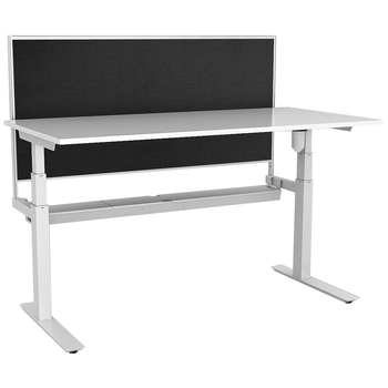 Rapid Paramount Electric Height Adjustable Desk with Screen