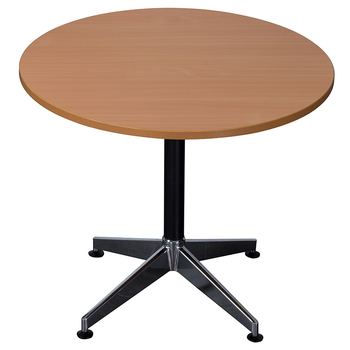 Typhoon Beech Round Meeting Table