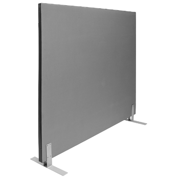 Grey Free Standing Acoustic Partition Screen