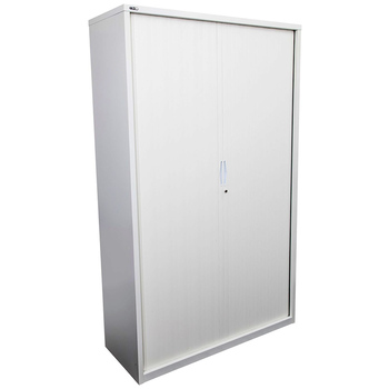 Go White Large Tambour Door Cupboard
