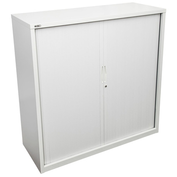Go White Medium Tambour Door Cupboard