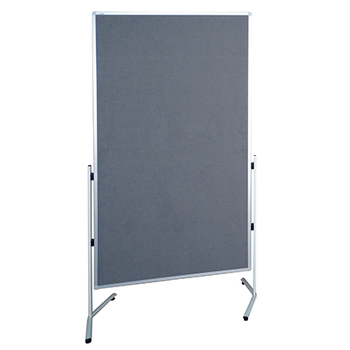 Modulo T Leg Grey Partition Room Divider Screen