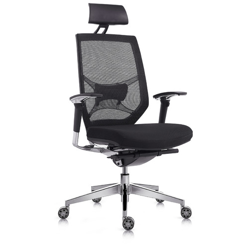 Milson Ergonomic High Back Black Mesh Chair