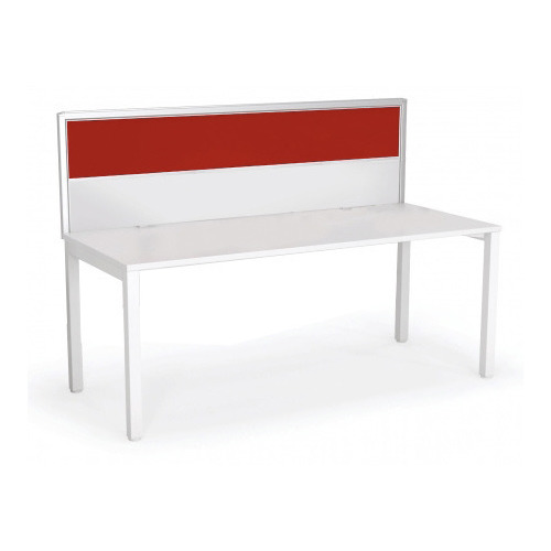 Axis Desk Mounted Screen - 1200 x 525 - Red