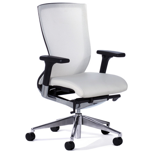 Balance White Mesh Back Executive Chair