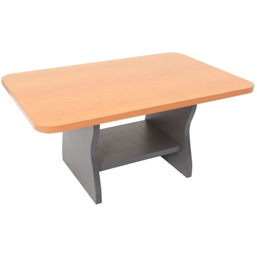 Express Melamine Coffee Table - Beech/Ironstone