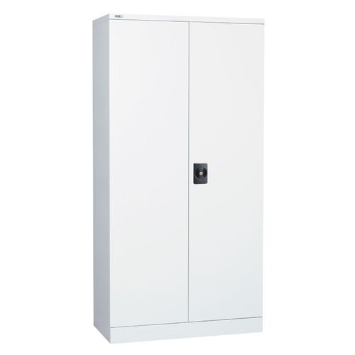 Go Steel White 1800mm High Stationary Cupboard