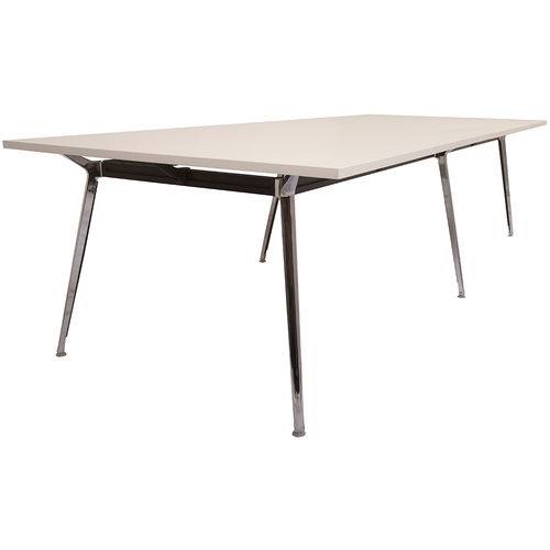 Rapid Air Large White Boardroom Table